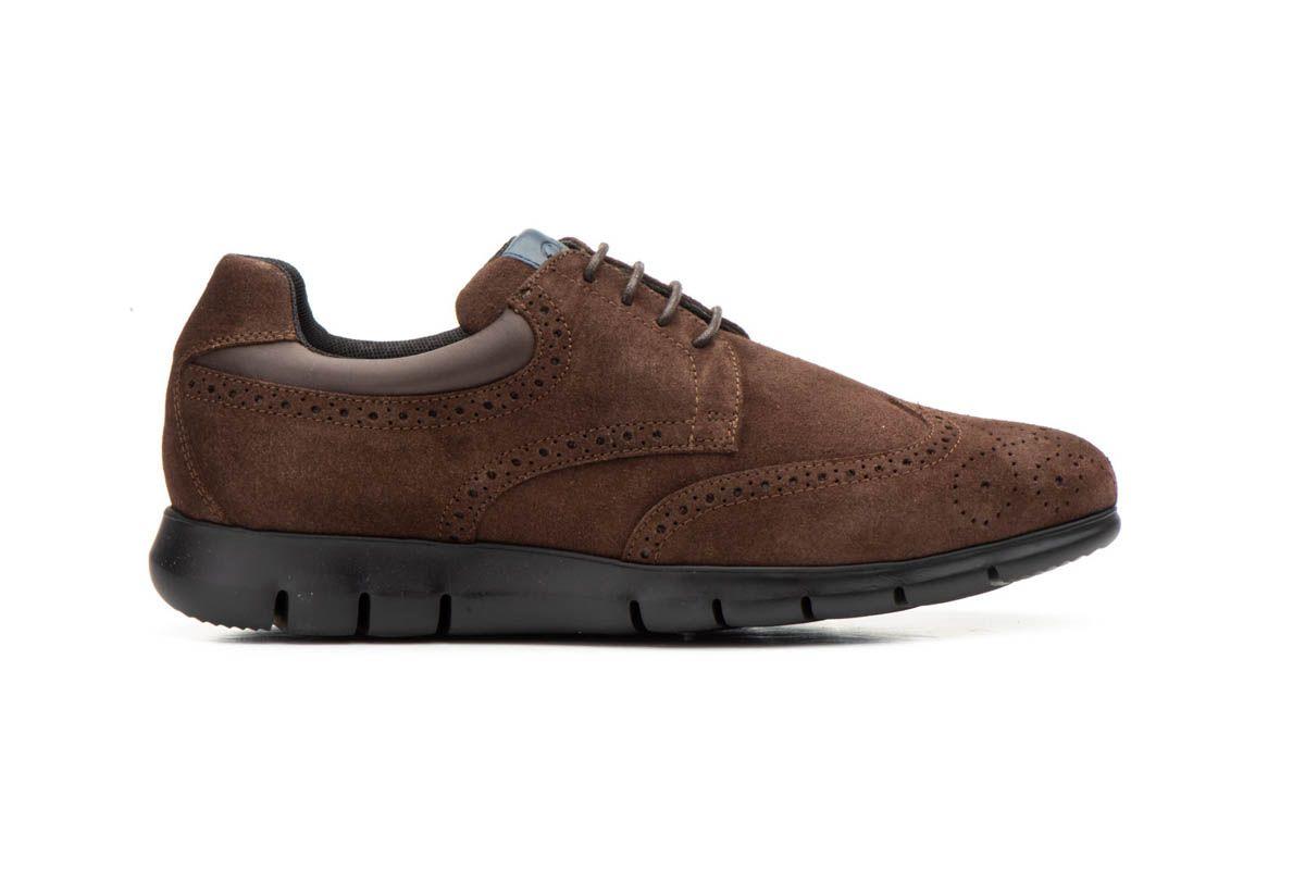 Montevita Comfortable Sneaker in Brown