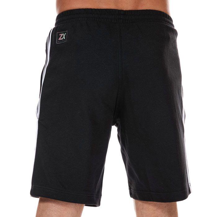 Men's adidas Originals Nutasca Shorts in Black-White