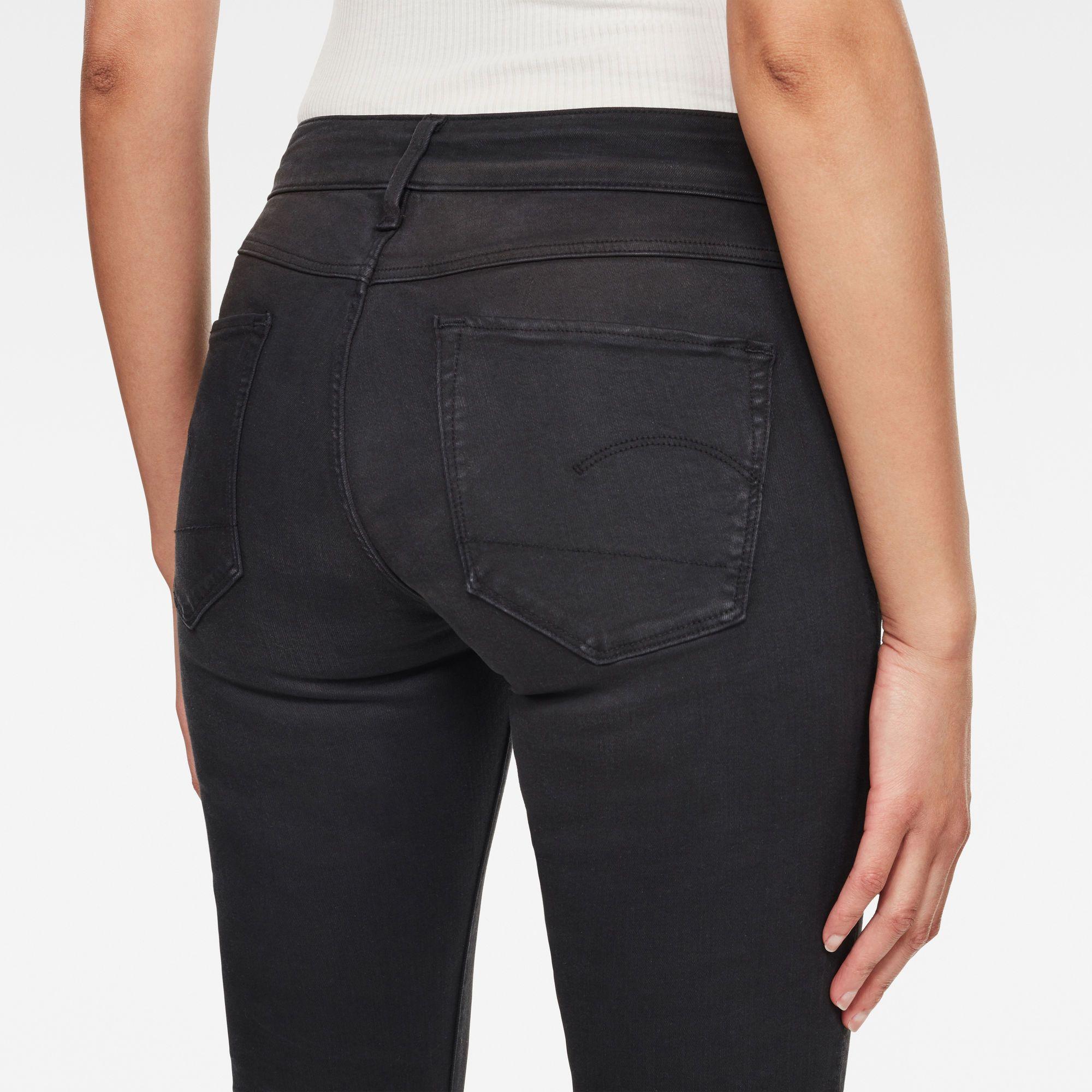 G-Star RAW 3301 D-Mid Waist Super Skinny Jeans