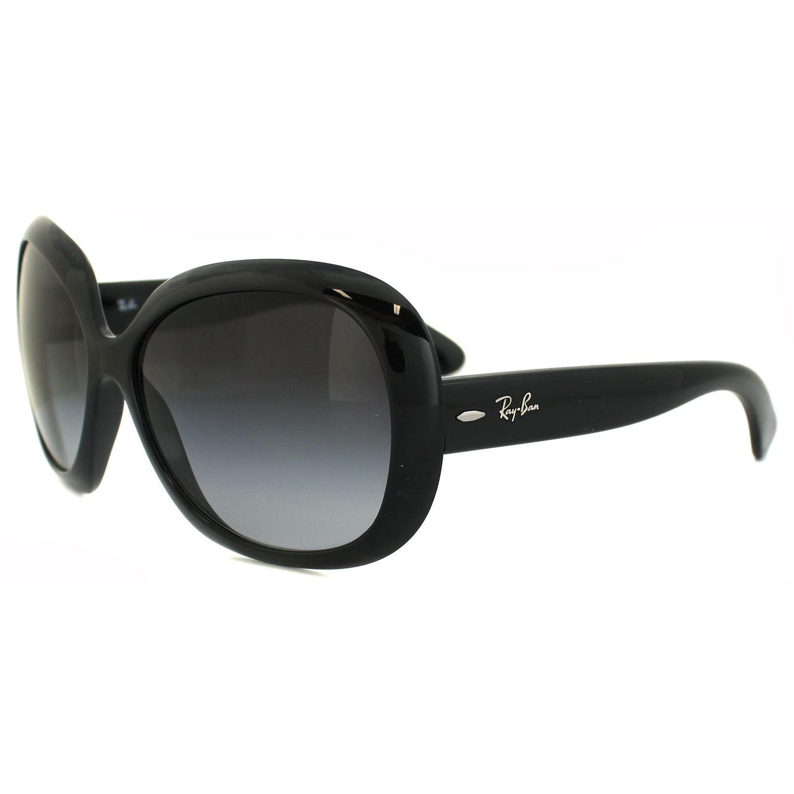 Ray-Ban Sunglasses Jackie Ohh Ii 4098 Black Grey Gradient 601/8G