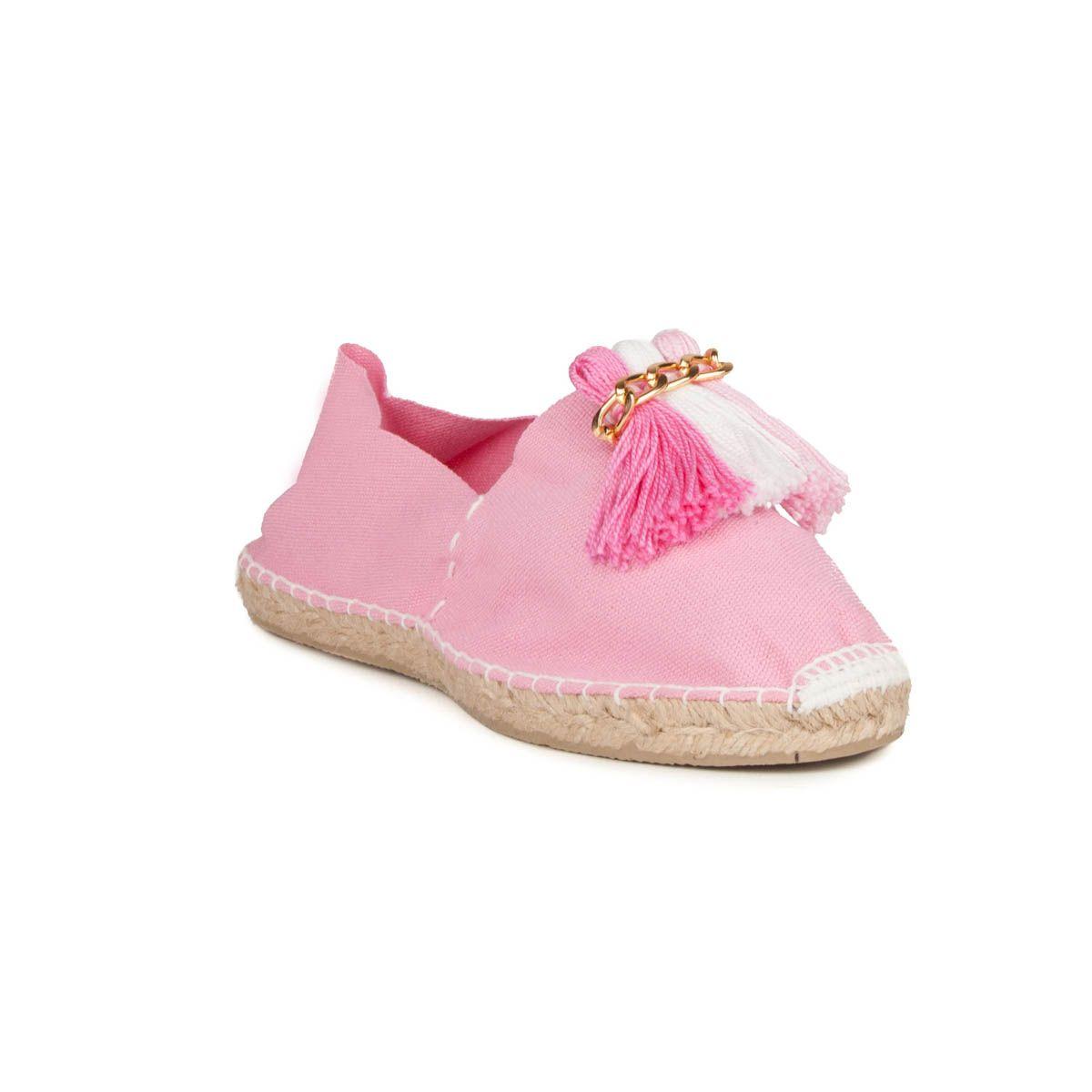 Maria Graor Tassel Espadrille in Pink