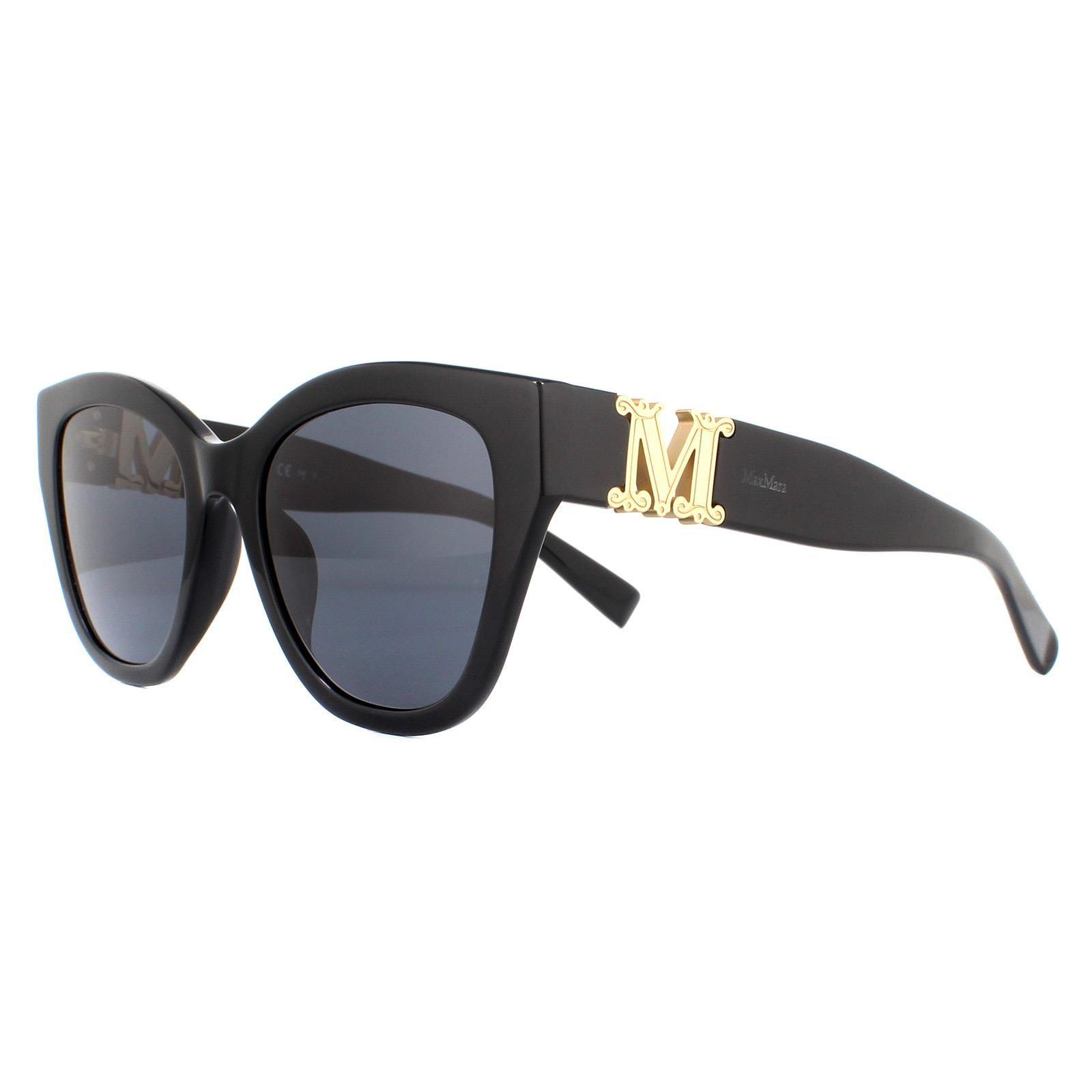 Max Mara Sunglasses Berlin  807 IR Black Grey