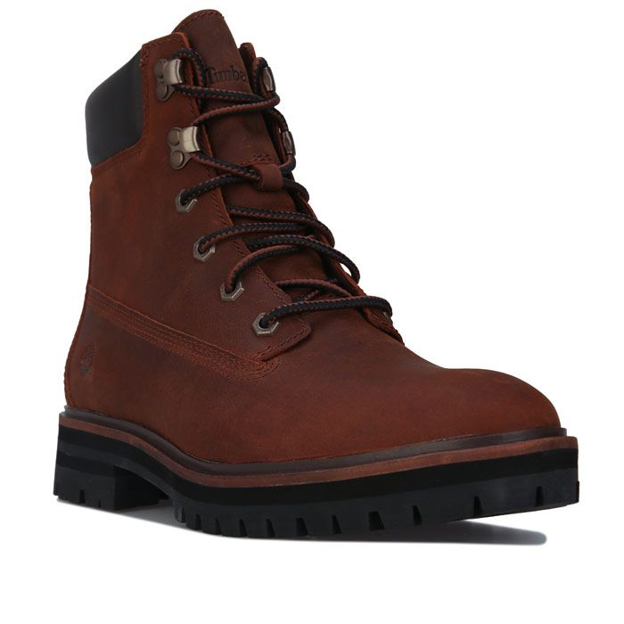 Women's Timberland London Square 6 Inch Boots in Brown