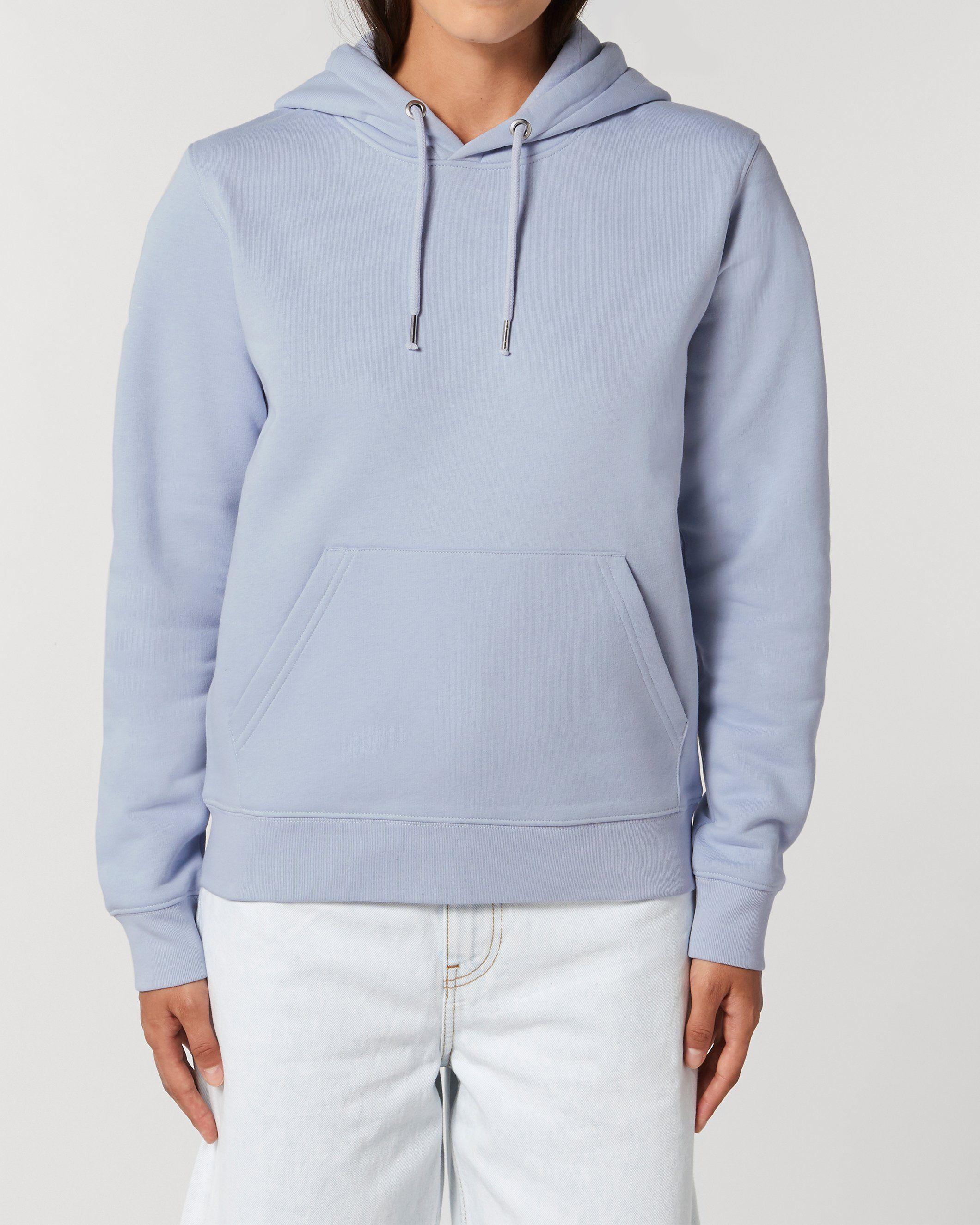Aura Unisex Regular Fit Hoodie in Blue