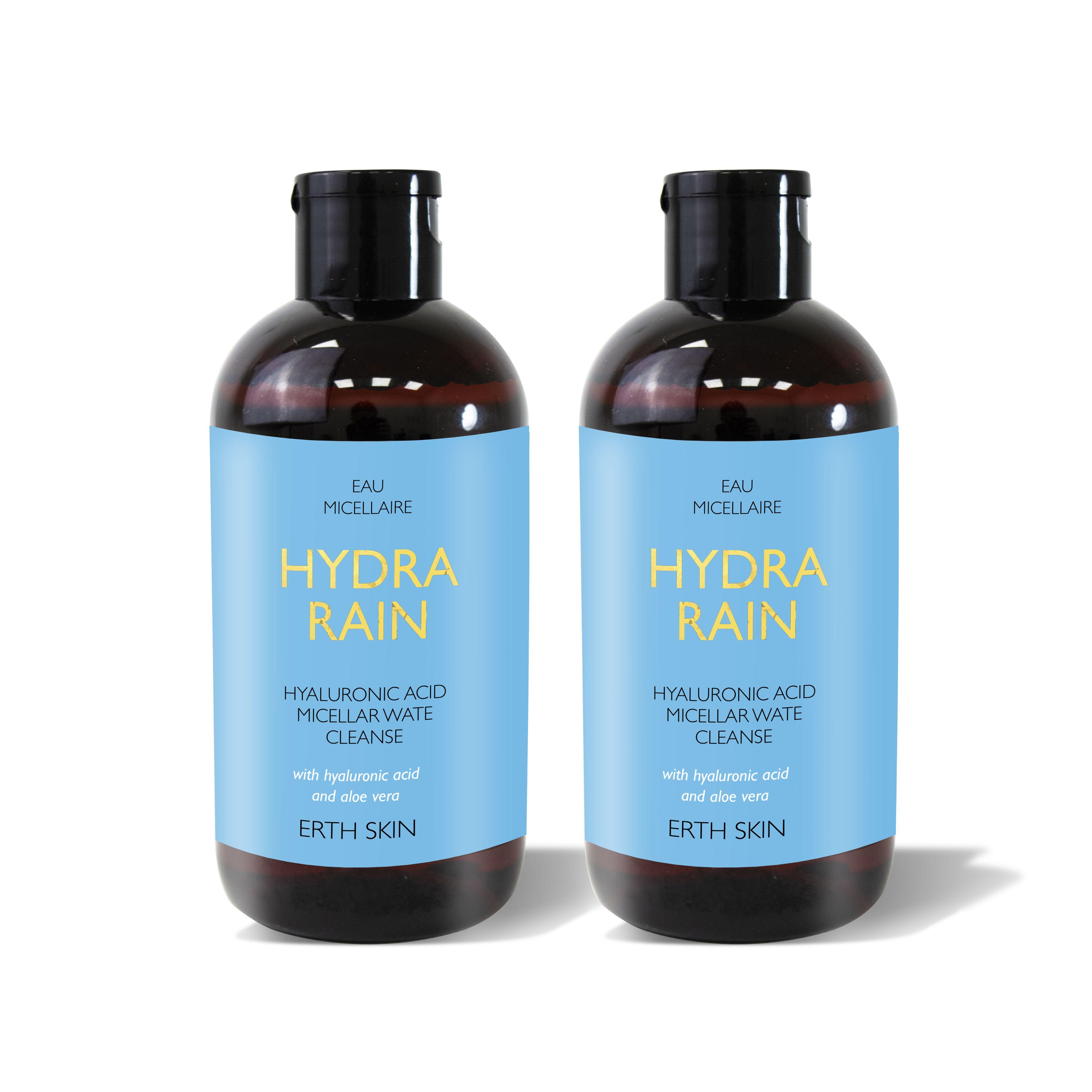 2 x HYDRA RAIN - micellar cleansing water
