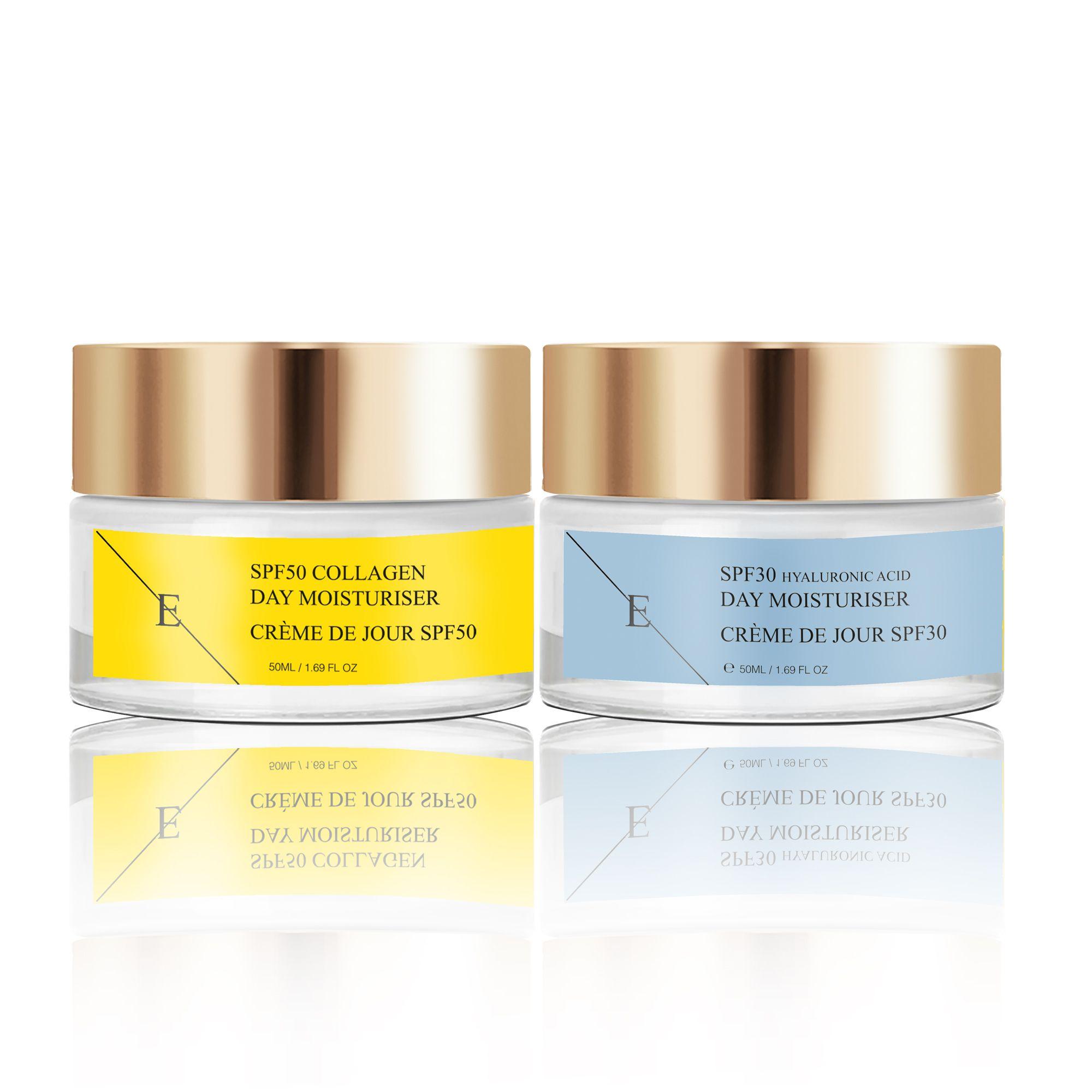 Retinol + Caviar Moisturiser 50ml + SPF50 Collagen Day Cream 50ml