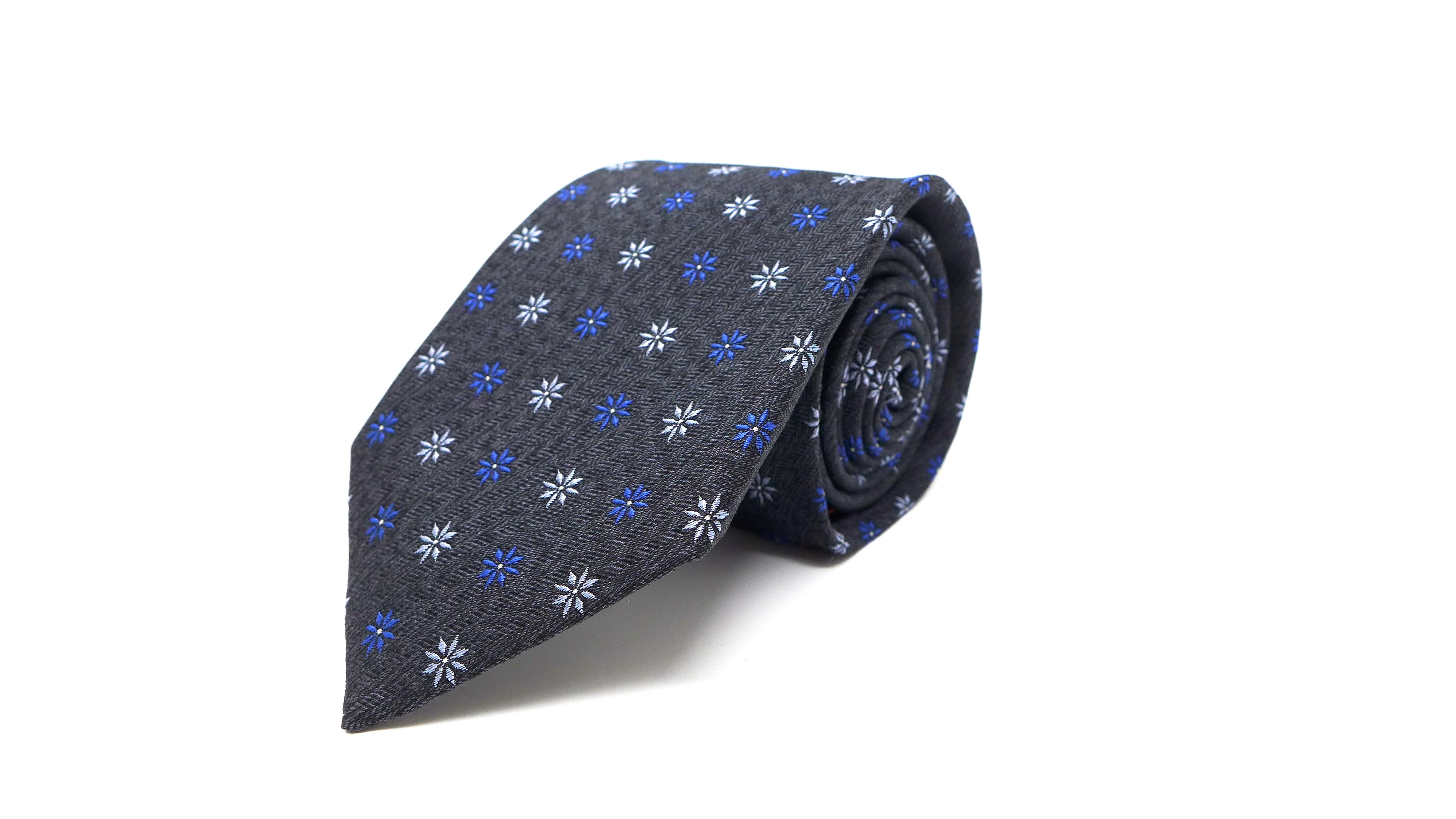 SC TIE STAR ANISE CHARCOAL