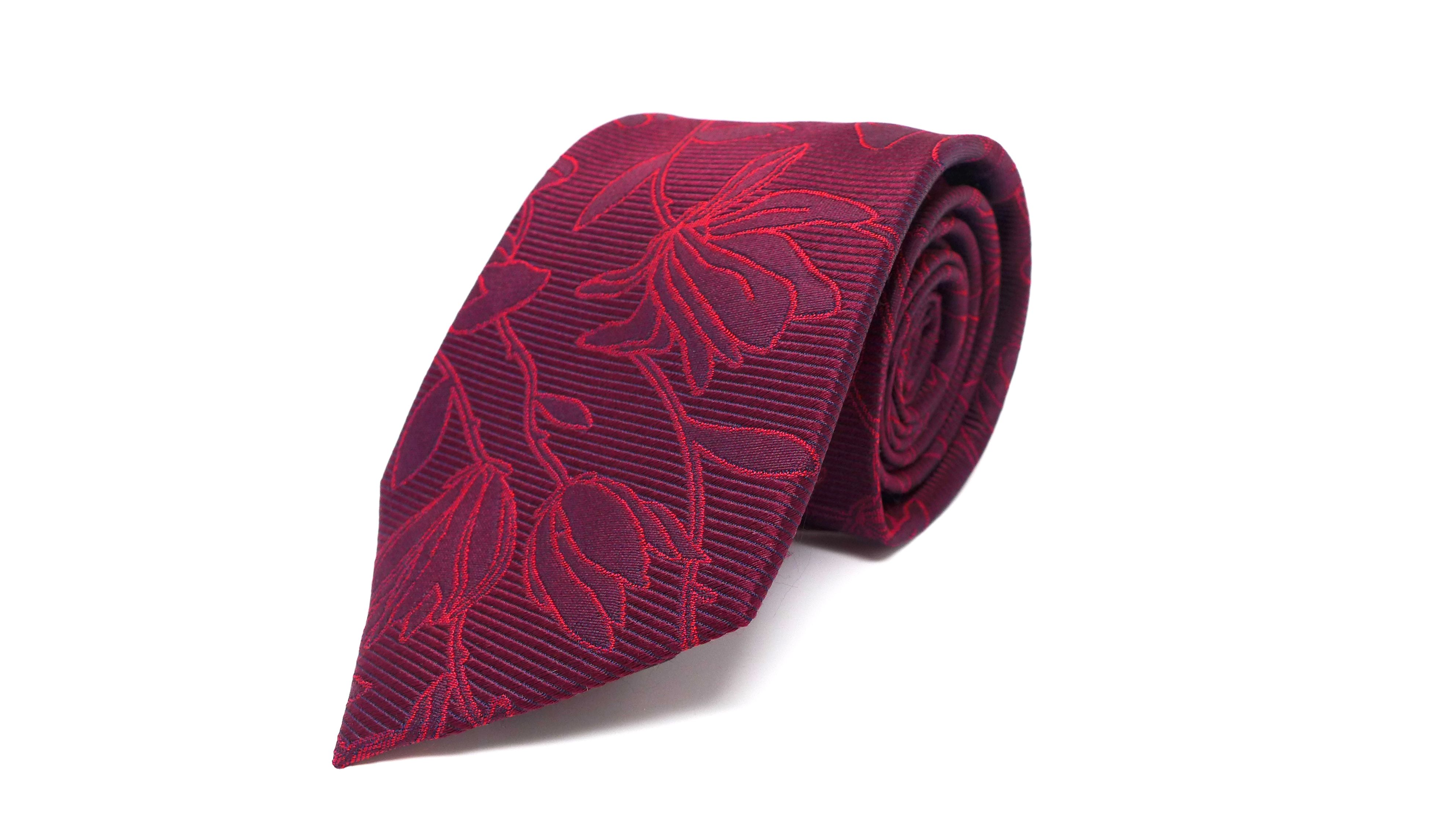SC TIE 10005 ORCHID RED