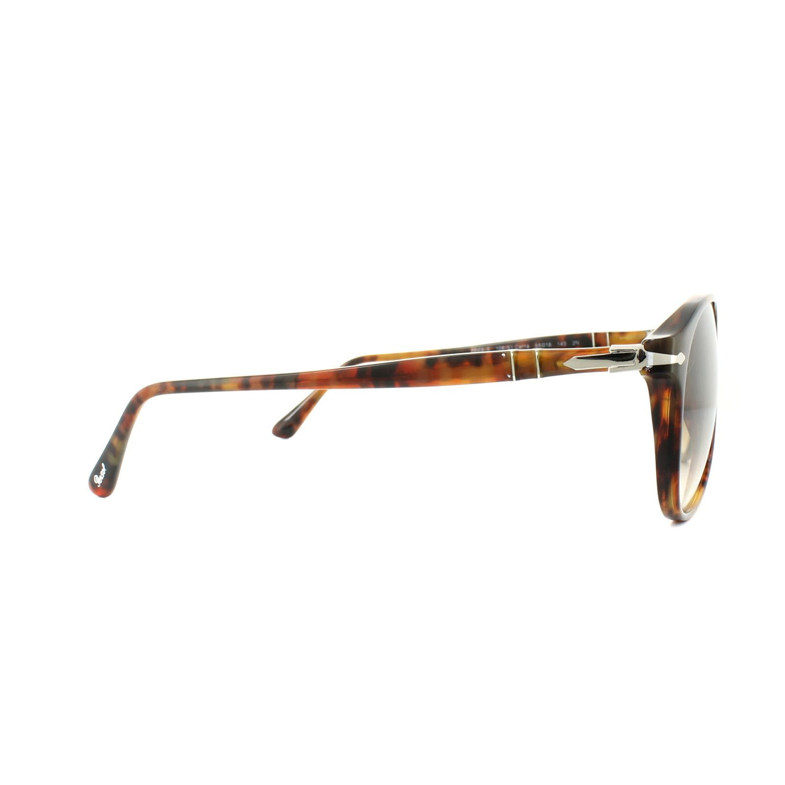 Persol Sunglasses 6649S 108/51 Caffe Brown Brown Gradient