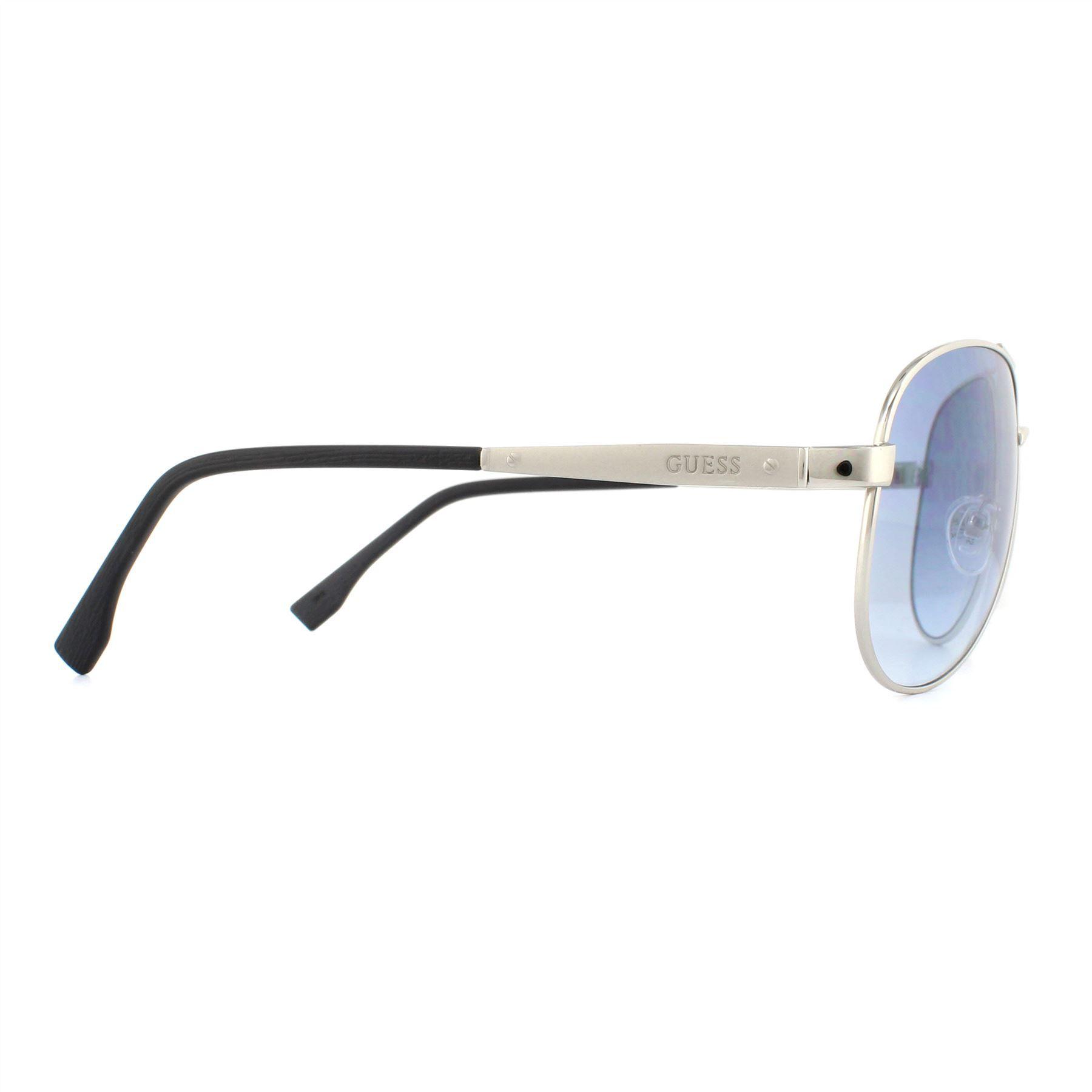 Guess Sunglasses GU6829 Q98 Silver Blue Gradient