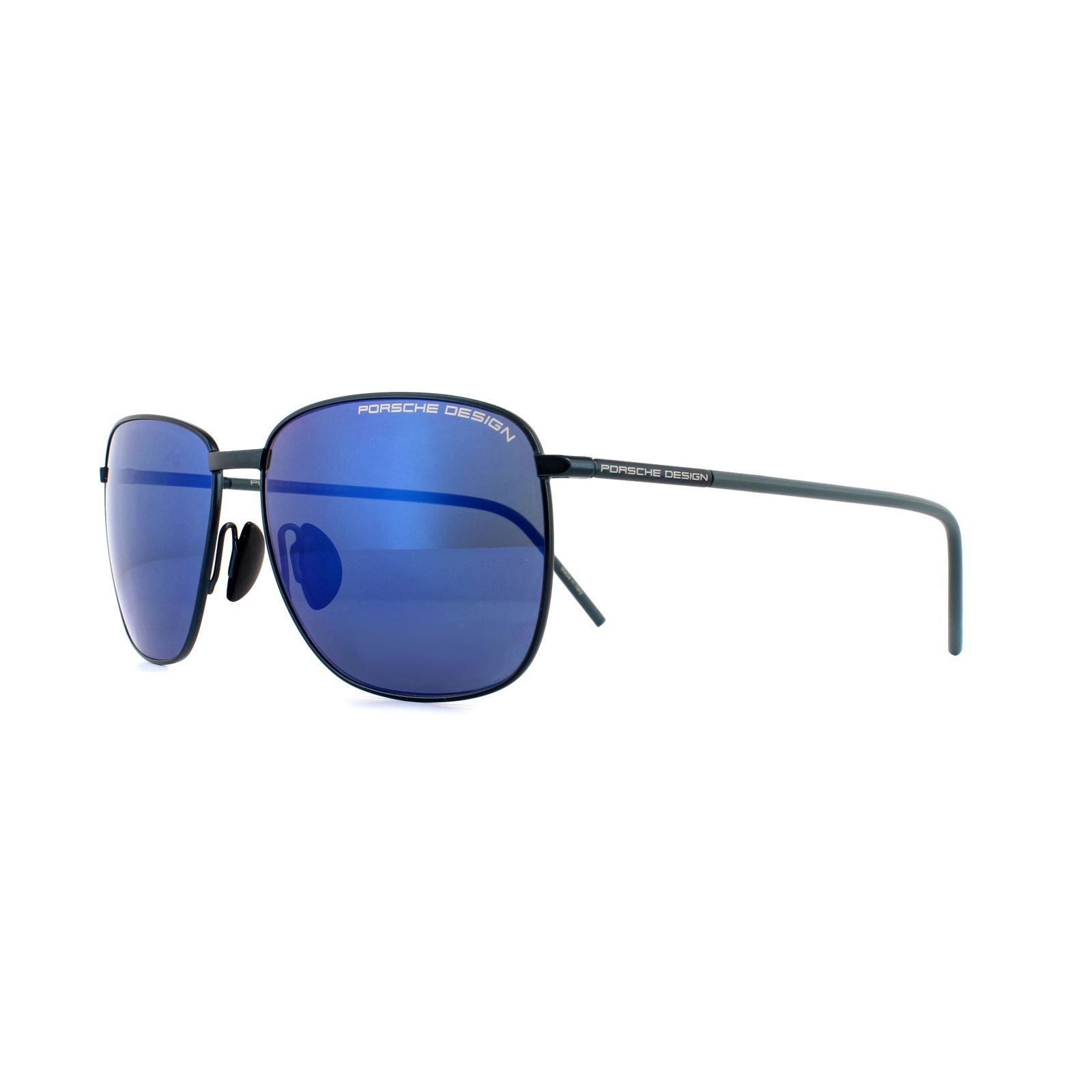 Porsche Design Sunglasses P8630 D Dark Blue Strong Dark Blue Mirror