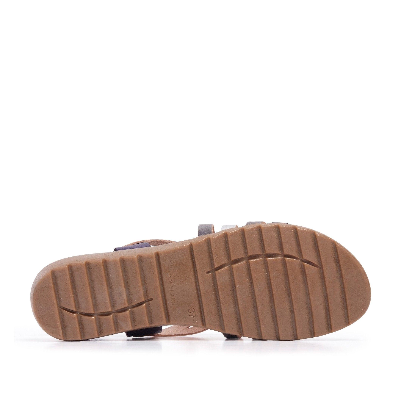 Navy Blue Sandals Flip Flop Women Eva Lopez