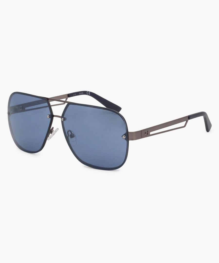 Guess Sunglasses blue lens, black frame