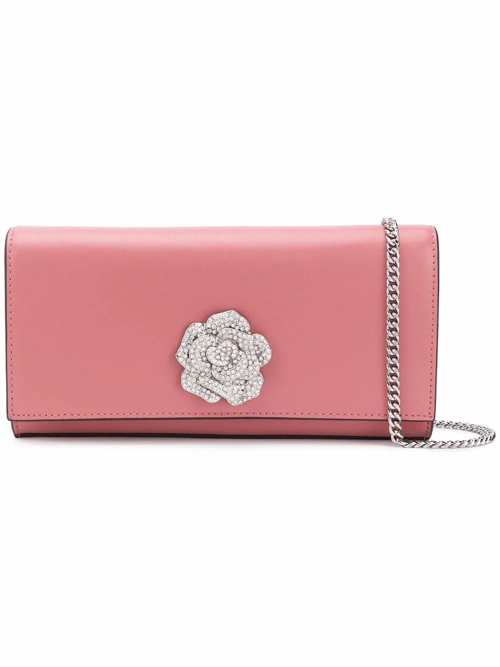 MICHAEL KORS WOMEN'S 30H8SI0C70PNK PINK LEATHER POUCH