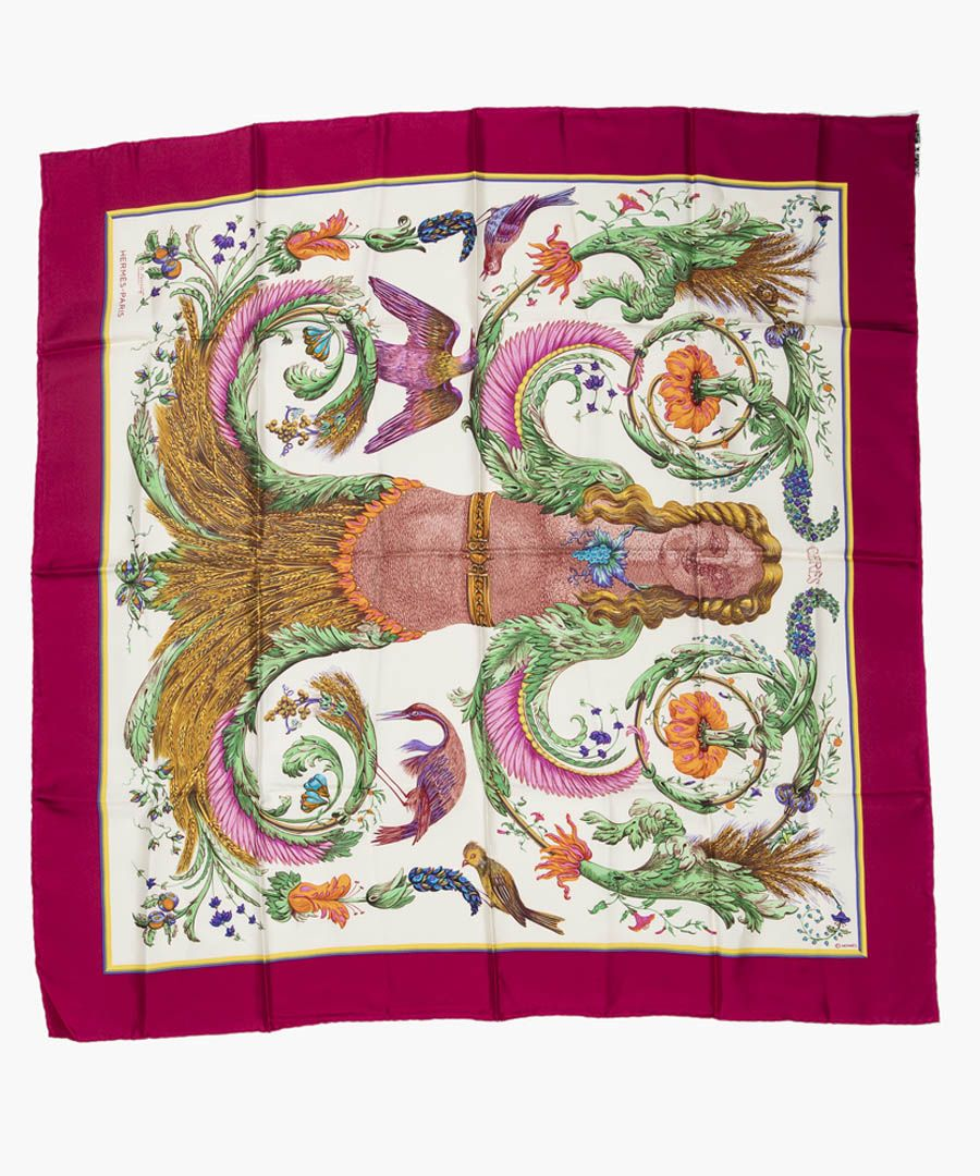 Ceres silk twill scarf