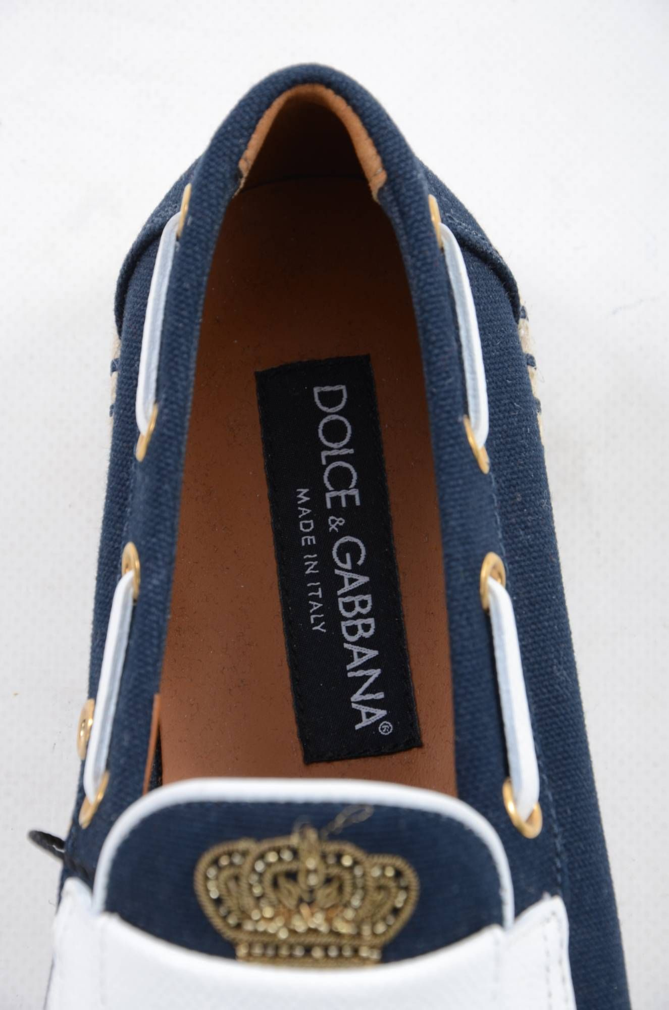 Dolce & Gabbana Men Shield Loafers