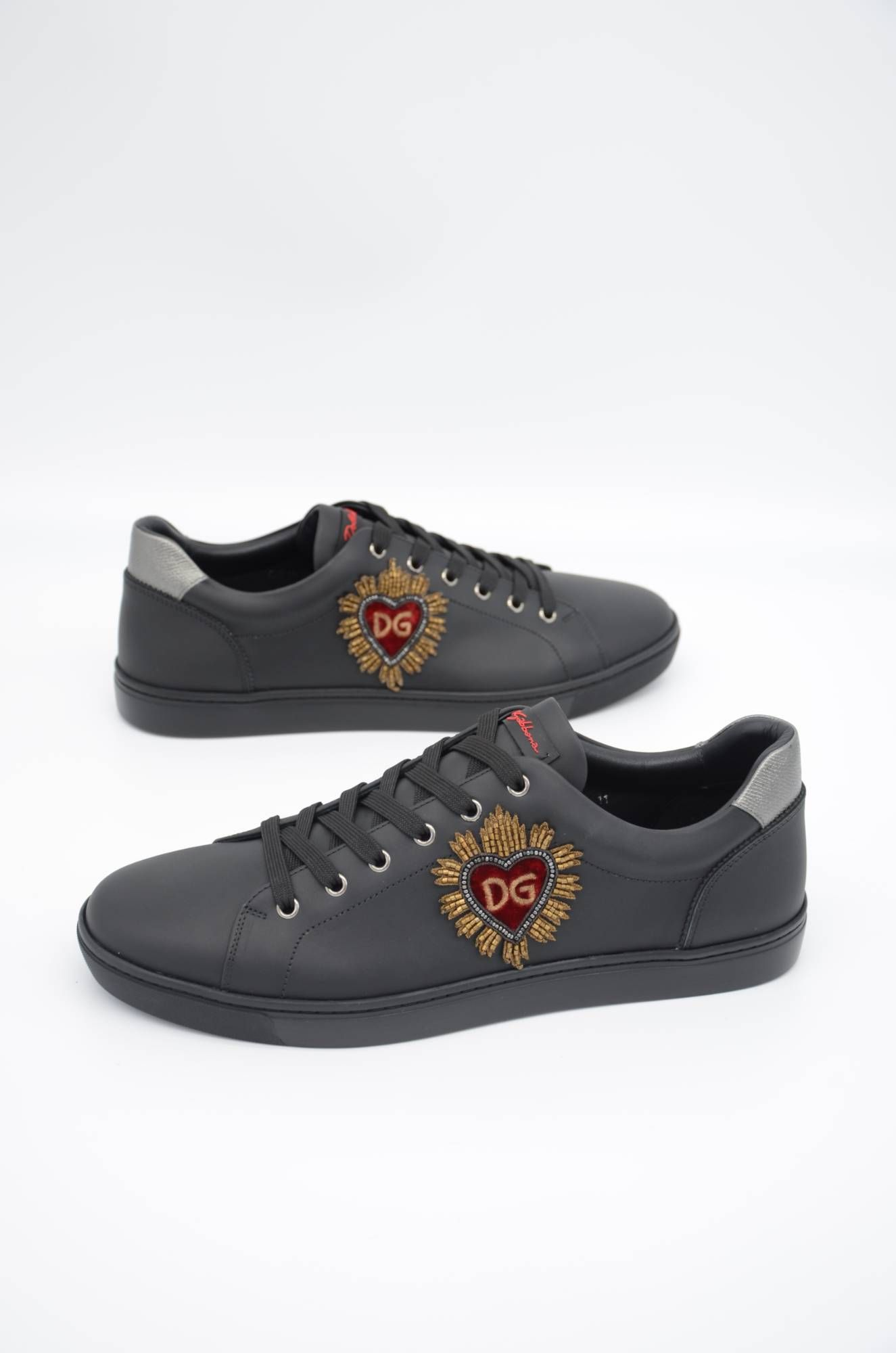 Dolce & Gabbana Men Embroidered Low-top Sneakers