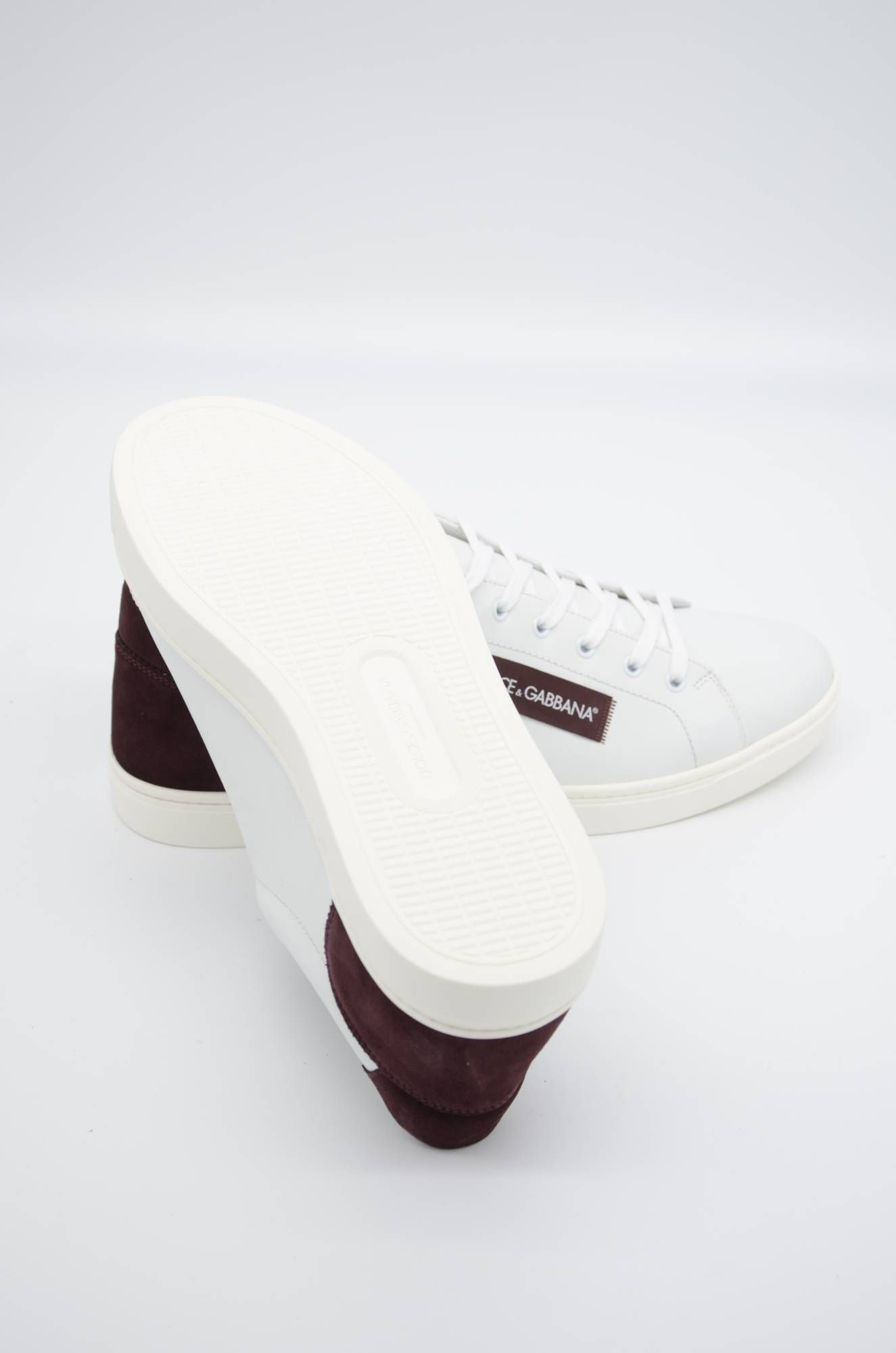 Dolce & Gabbana Men Low-top Leather Sneakers