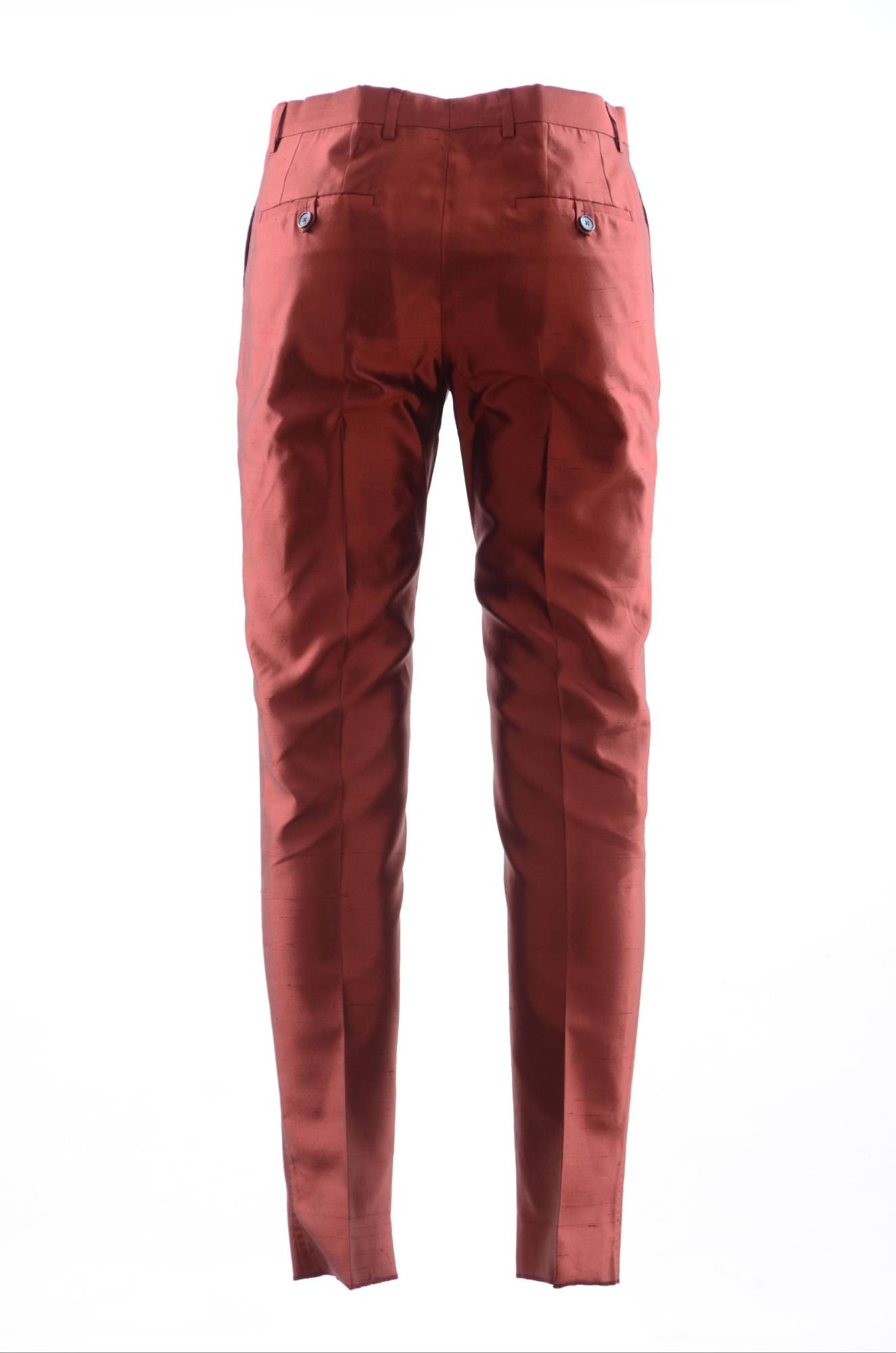 Dolce & Gabbana Men Silk Pants