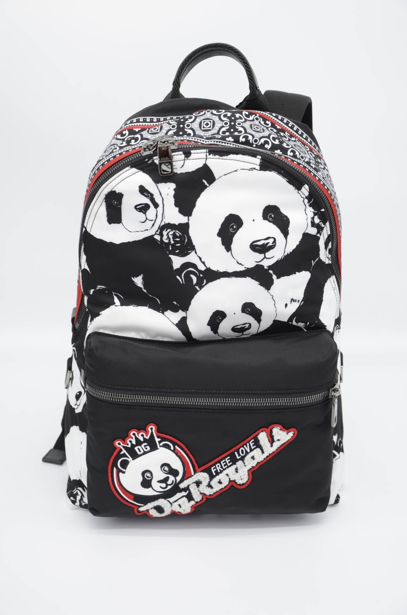 Dolce & Gabbana Men Panda Backpack