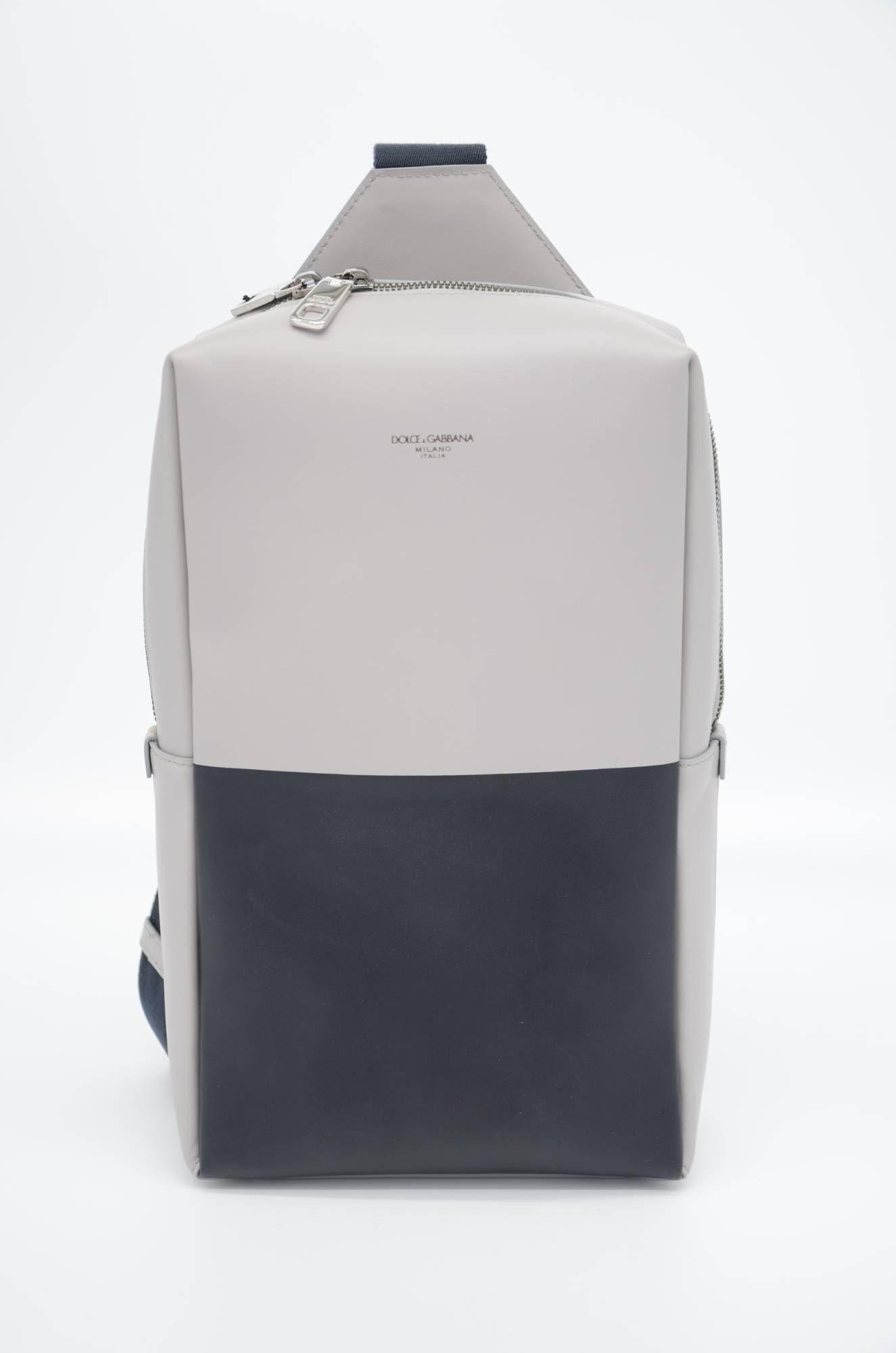Dolce & Gabbana Men Leather Waist Bag