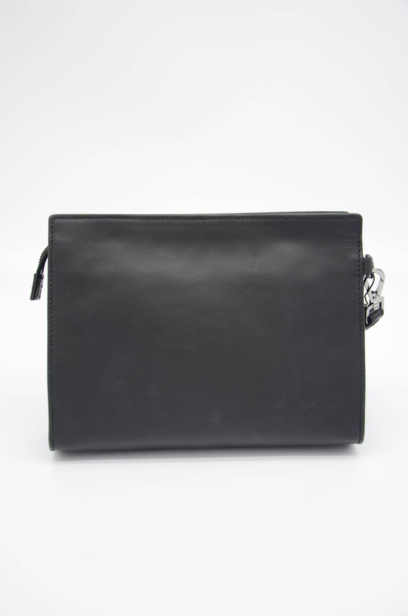 Dolce & Gabbana Men Leather Clutch Bag