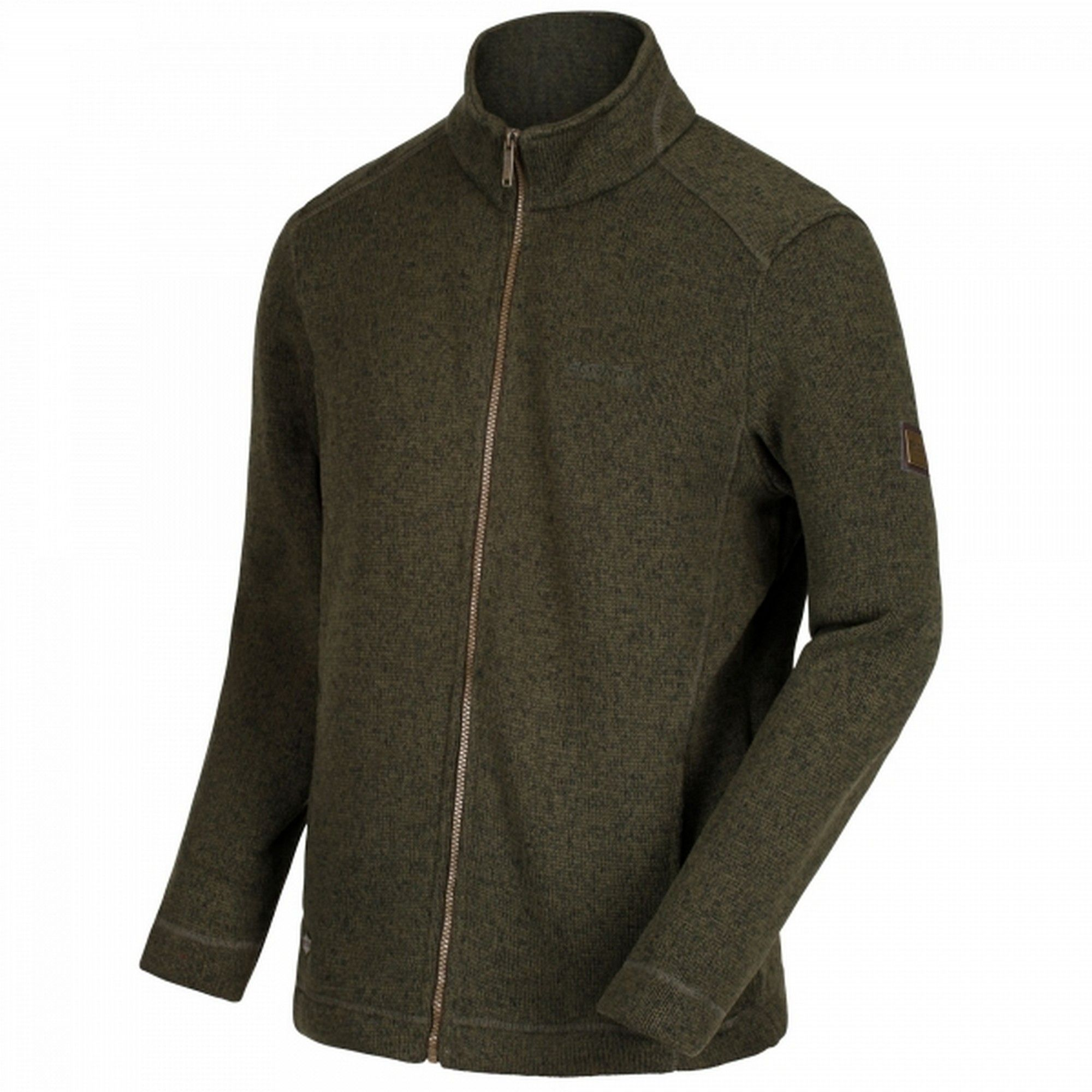 Regatta Mens Branton Full Zip Jacket (Umbra Grey)