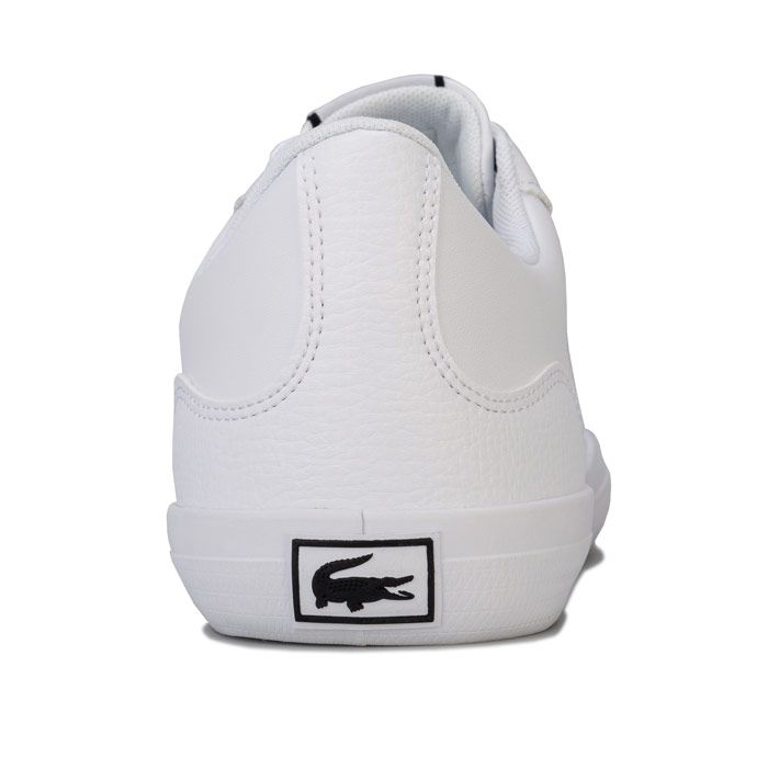 Men's Lacoste Lerond 418 Trainers in White