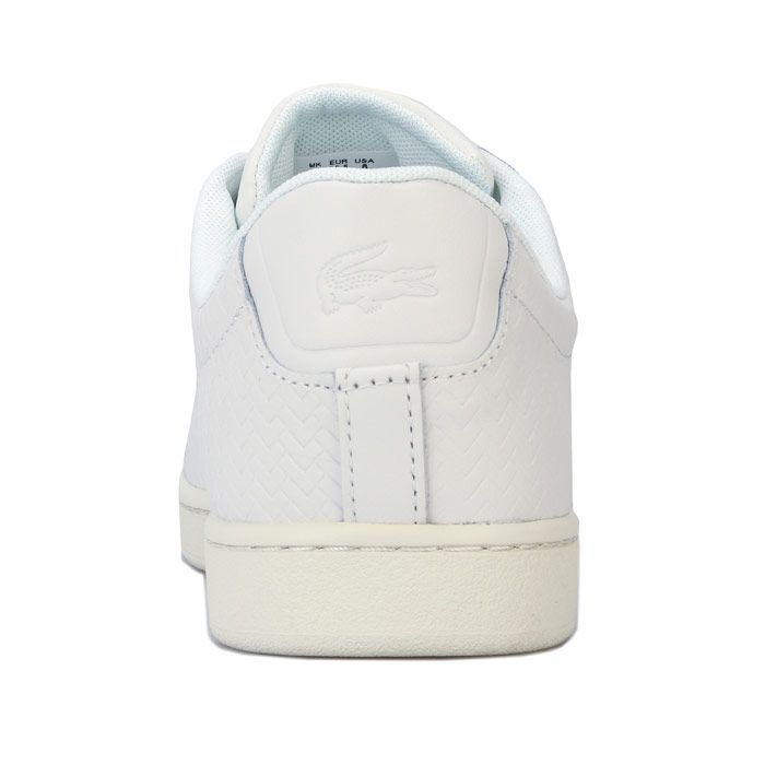 Women's Lacoste Carnaby Evo 119 Trainer in White
