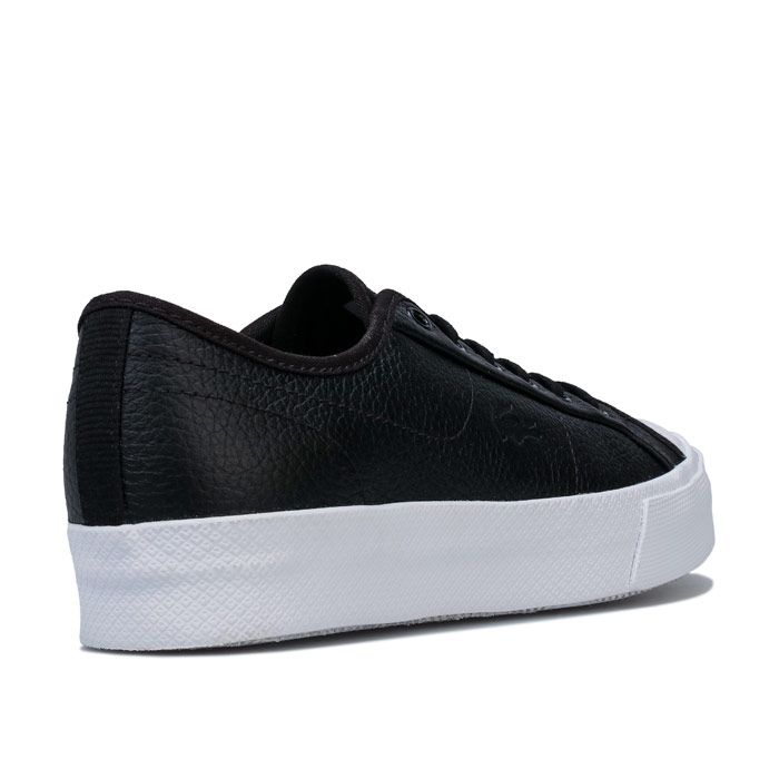 Women's Lacoste Ziane Plus Grand Trainers in Black-White