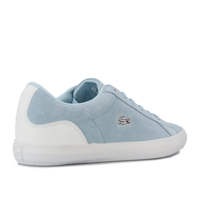 Women's Lacoste Lerond Trainers in Blue-White