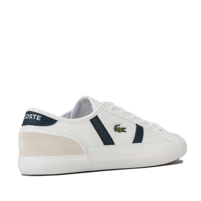 Women's Lacoste Sideline 120 5 Trainers in White