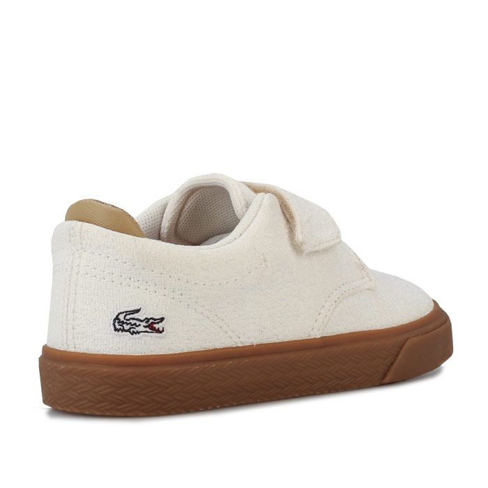 Boy's Lacoste Infant Esparre Trainers in White