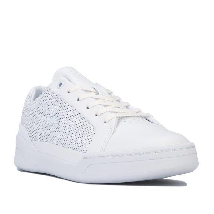 Women's Lacoste Challenge Trainers in White