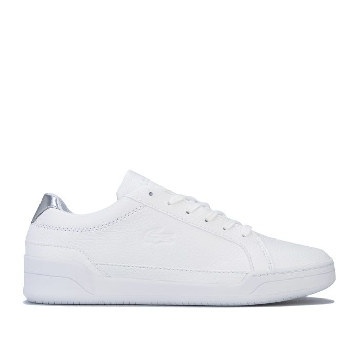 Women's Lacoste Challenge Trainers in White silver