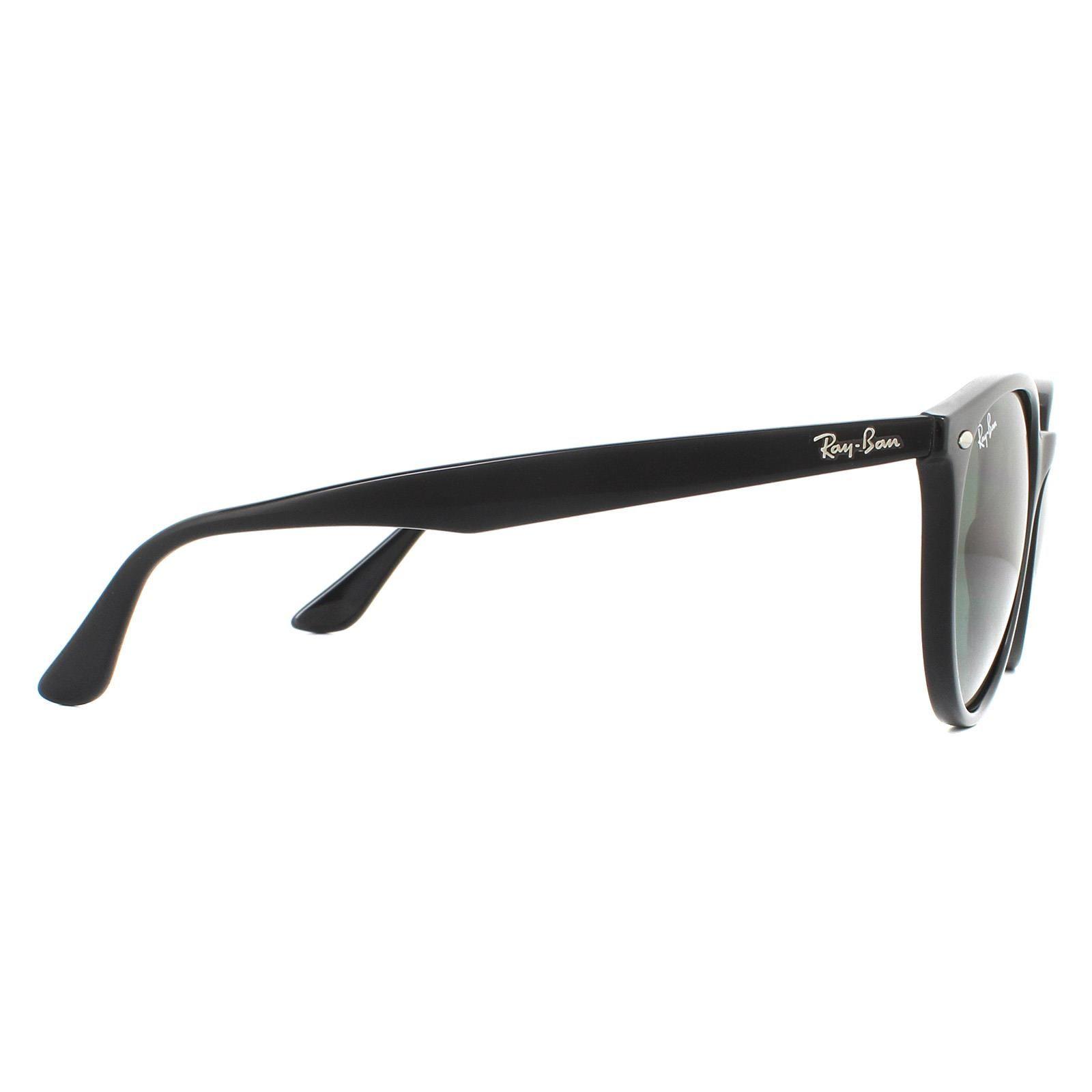 Ray-Ban Sunglasses RB4305 601/71 Black Green G-15