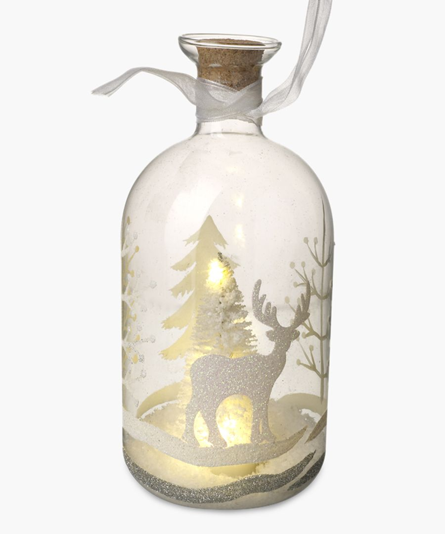 Light-up deer large bottle