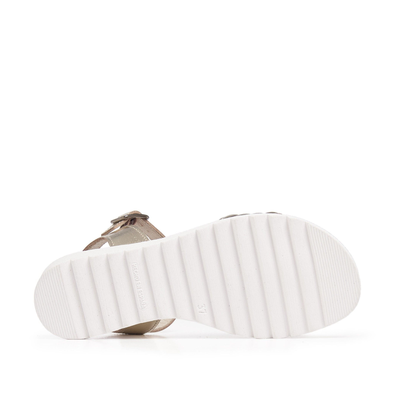 Flip Flop Sandals Women Summer Silver Eva Lopez