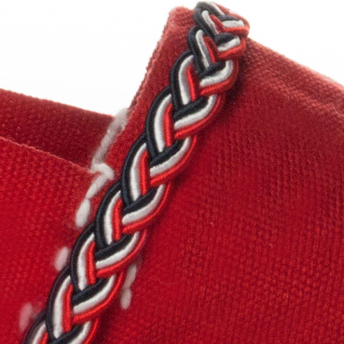 Maria Graor Artisanal Espadrille in Red