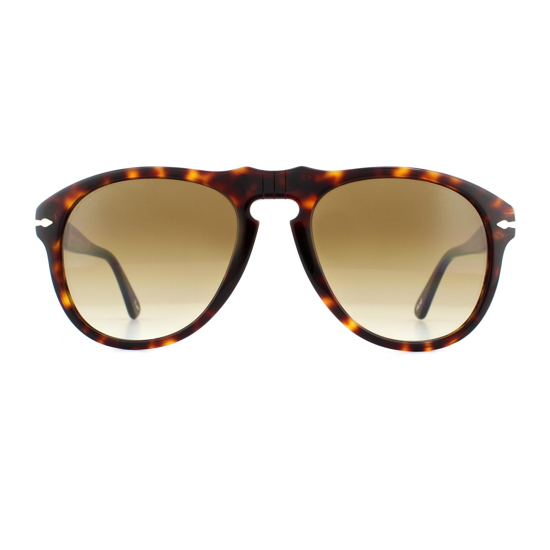 Persol Sunglasses 0649 24/51 Havana Brown Gradient Steve McQueen 54mm