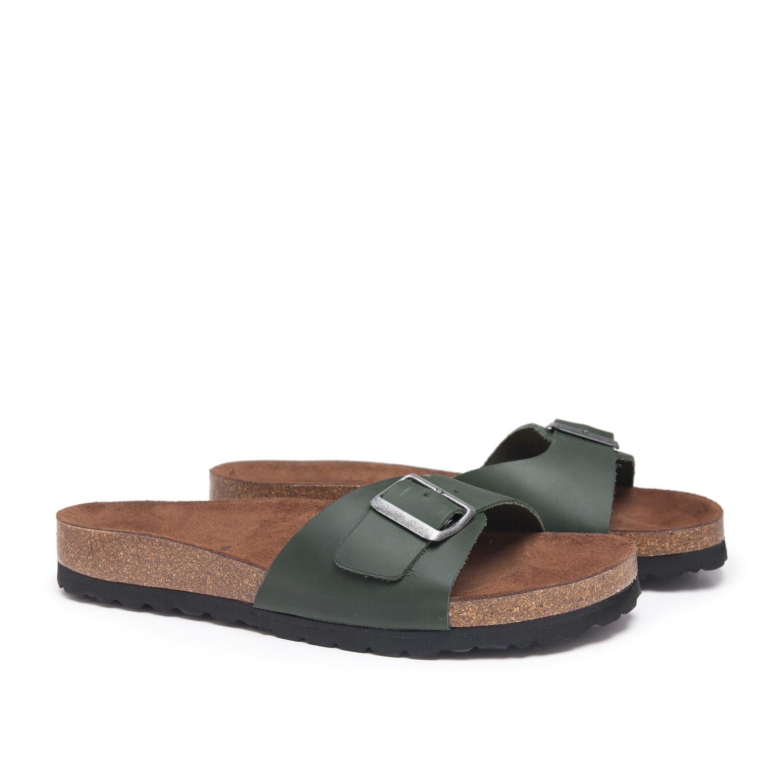 Bio Sandals for Men Summer Green Shoes Castellanisimos