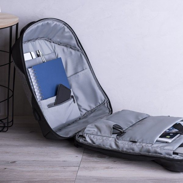 Anti-theft Rucksack with USB and Tablet and Laptop Compartment 145947