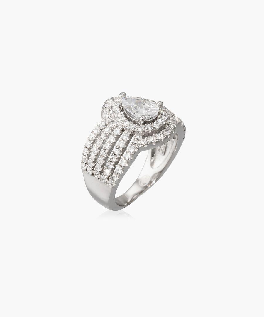 Pétra silver ring