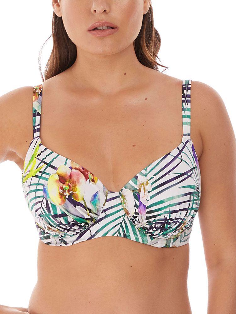 Playa Blanca Underwired Gathered Full Cup Bikini Top