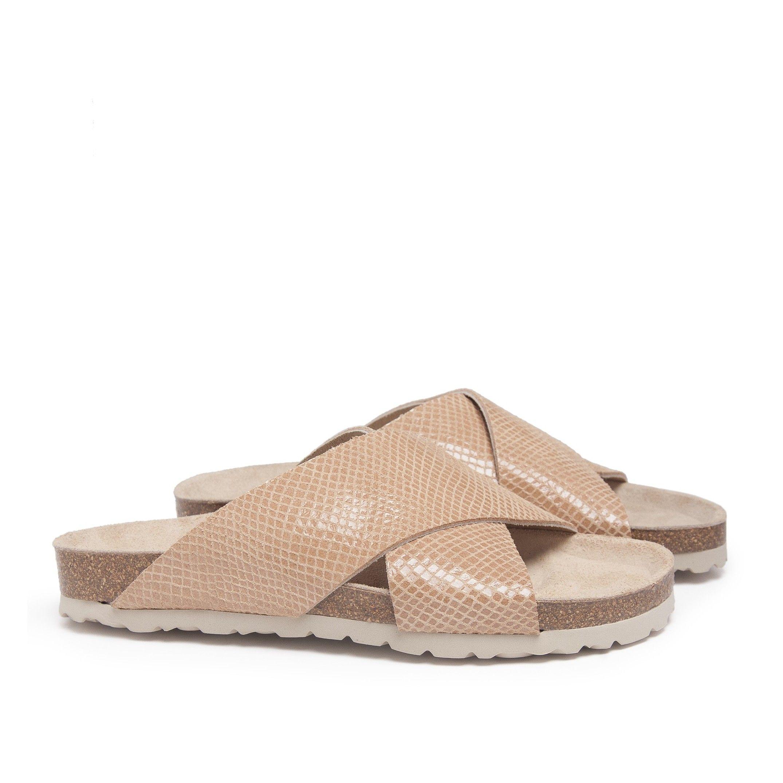 Bio Sandals for Women Camel Shoes Maria Barcelo