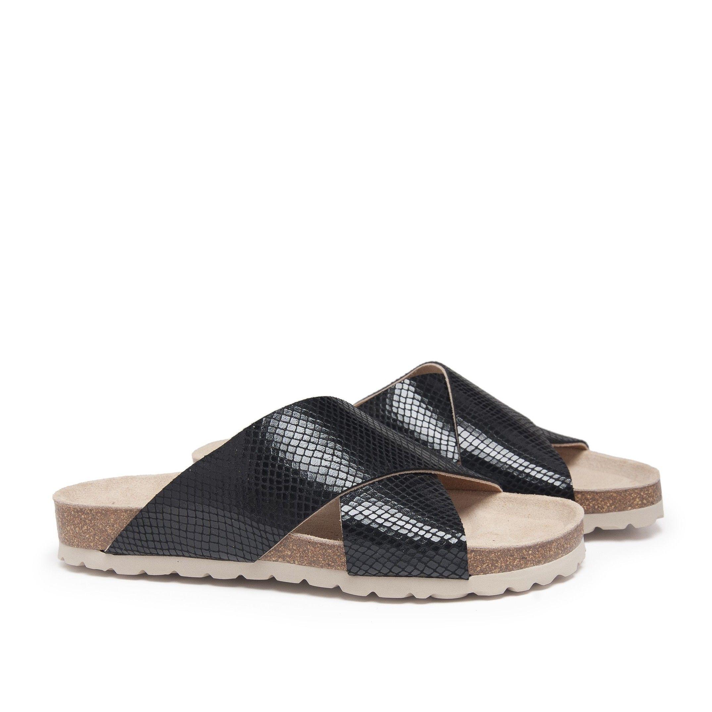 Bio Sandals for Women Black Shoes Maria Barcelo