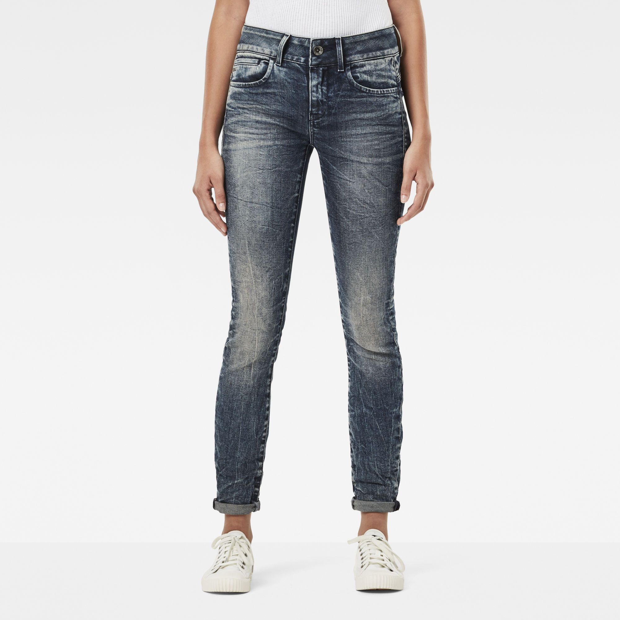 G-Star RAW Midge D-Cody Mid Waist Skinny Jeans