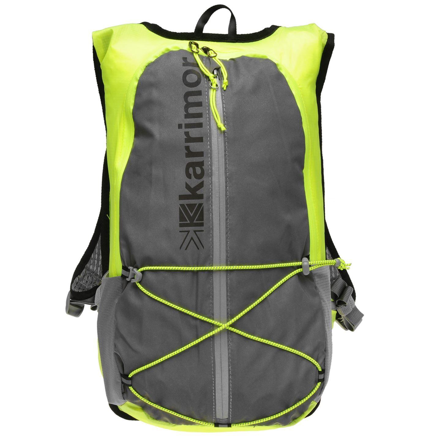 Karrimor X Lite 15L Running Back Pack Travel Luggage Everyday Casual Bag