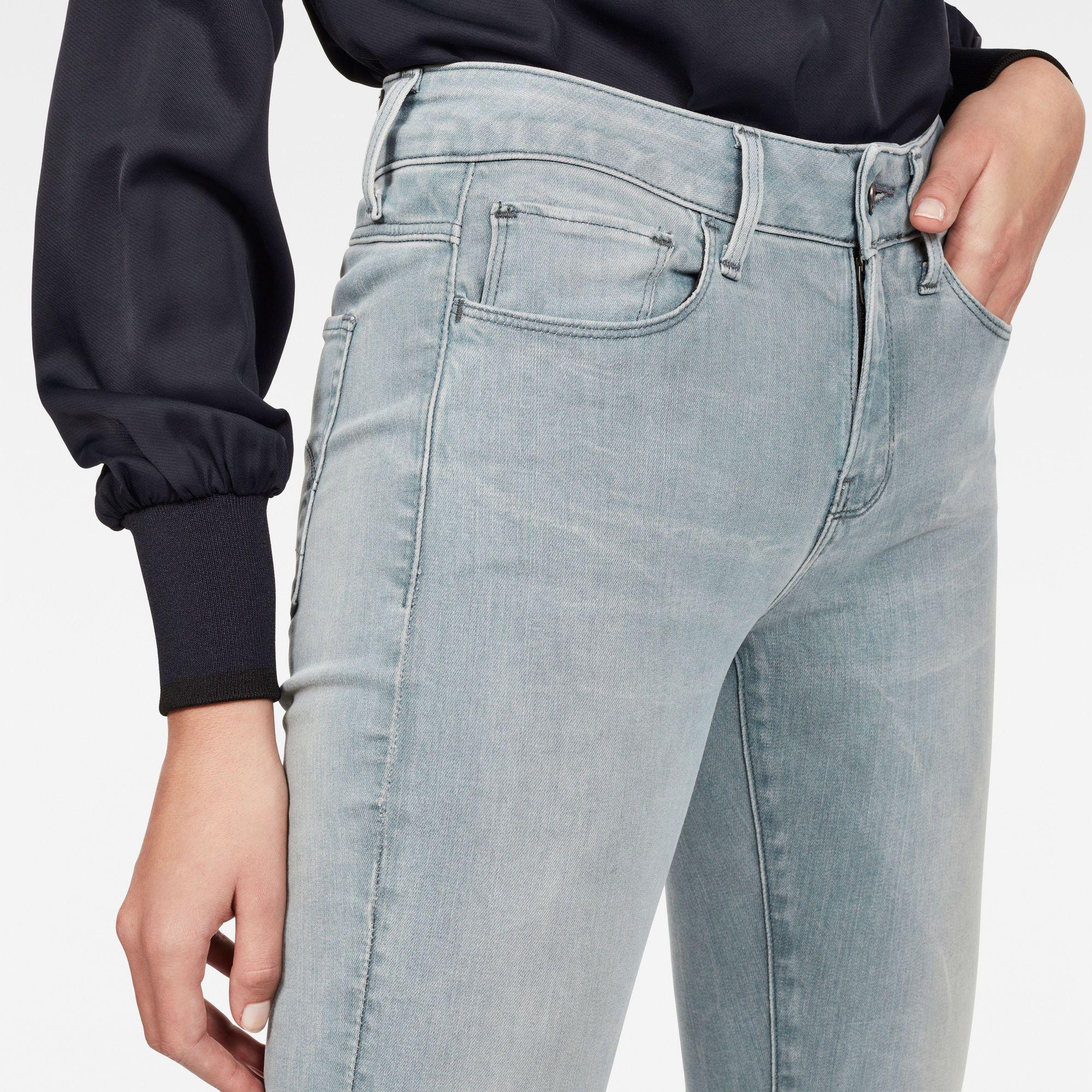 G-Star RAW 3301 Mid Waist Skinny Jeans