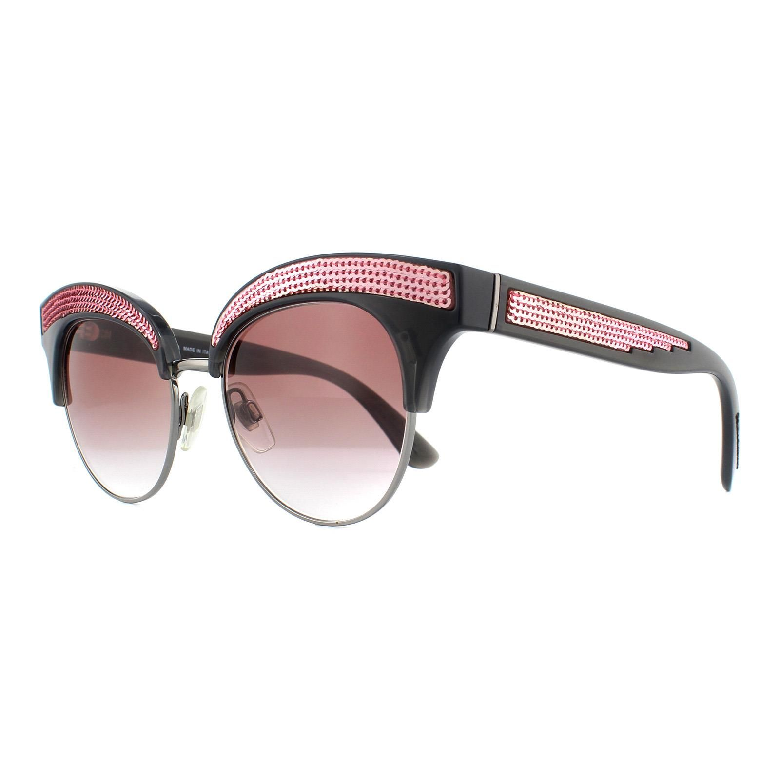 Dolce & Gabbana Sunglasses 6109 31238D Grey and Pink Pink Gradient